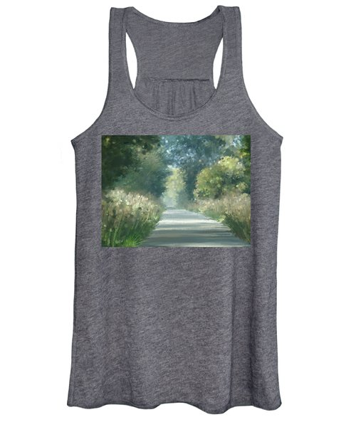 The Road Back Home Women's Tank Top