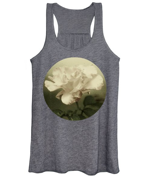 Faded Rose Women's Tank Top