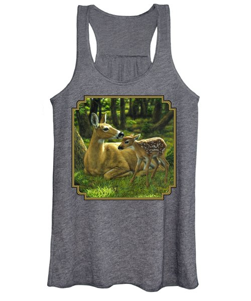 Whitetail Deer - First Spring Women's Tank Top