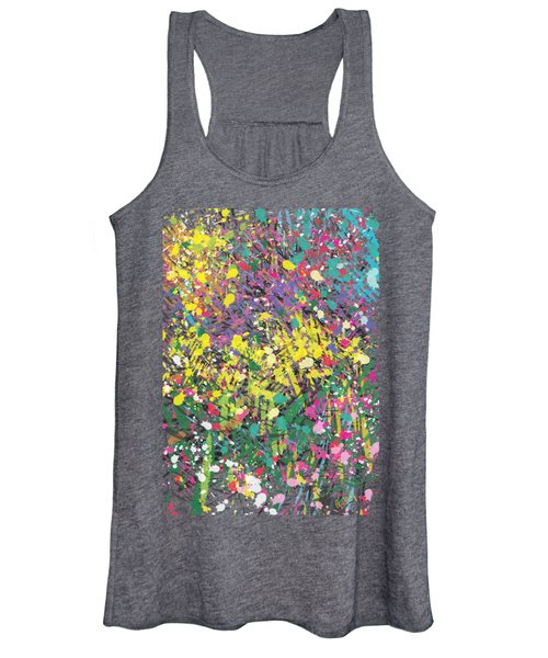 Flower Bed Abstract Women's Tank Top