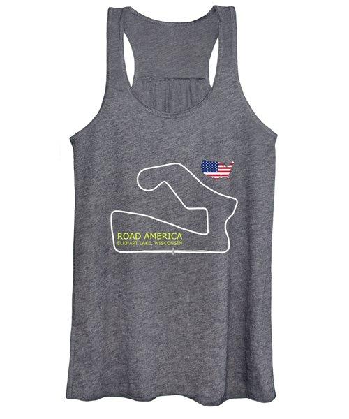 Road America Circuit Women's Tank Top
