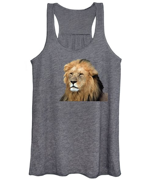 Masai Mara Lion Portrait    Women's Tank Top