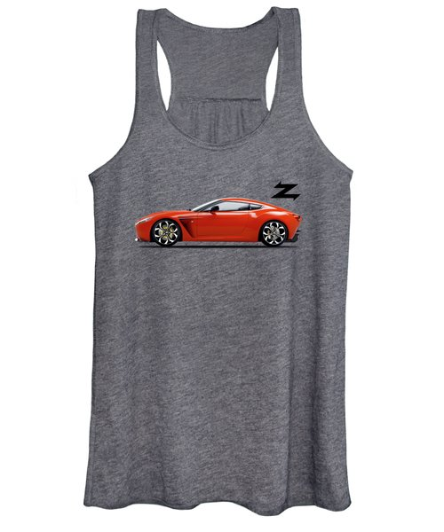 Aston Martin V12 Zagato Women's Tank Top