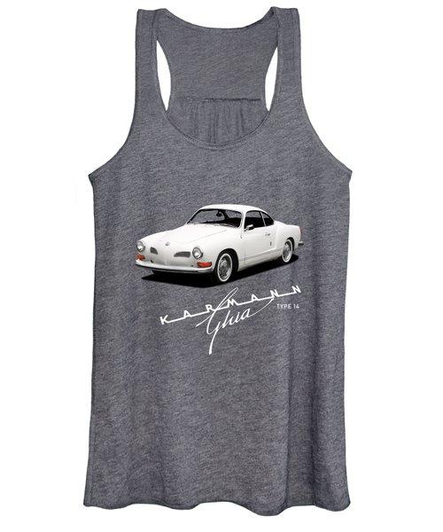 Vw Karmann Ghia Women's Tank Top