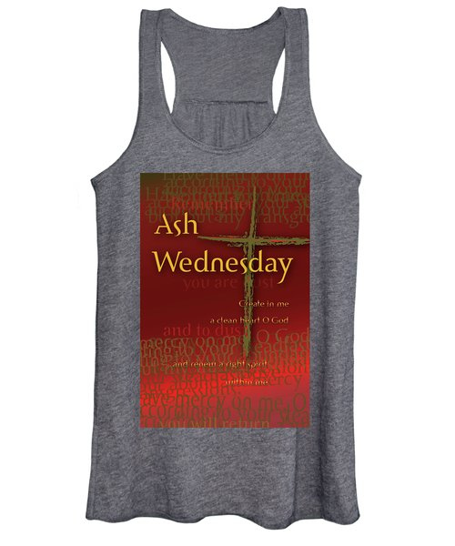 Ash Wednesday Women's Tank Top