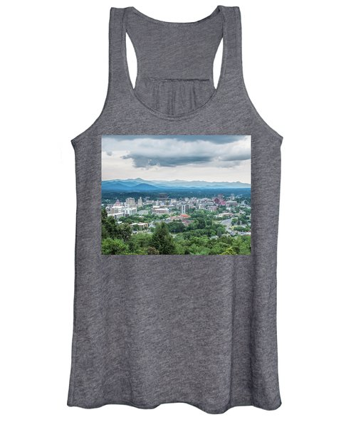 Asheville Afternoon Cropped Women's Tank Top