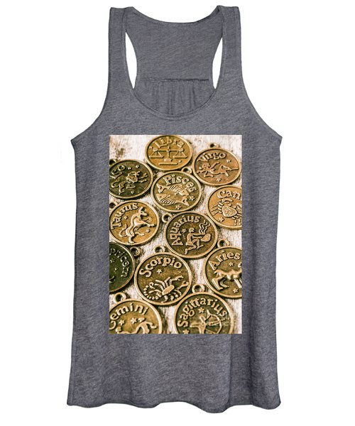 Astrology Charms Women's Tank Top
