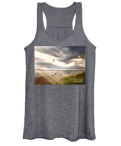 At The Beach Women's Tank Top