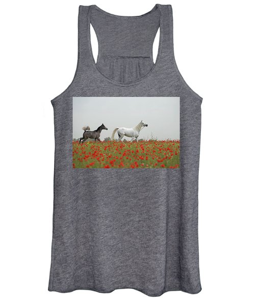 At The Poppies' Field... Women's Tank Top