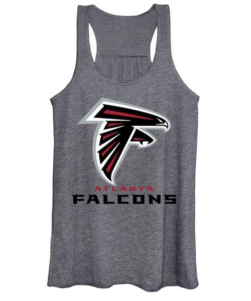 Atlanta Falcons Translucent Steel Women's Tank Top