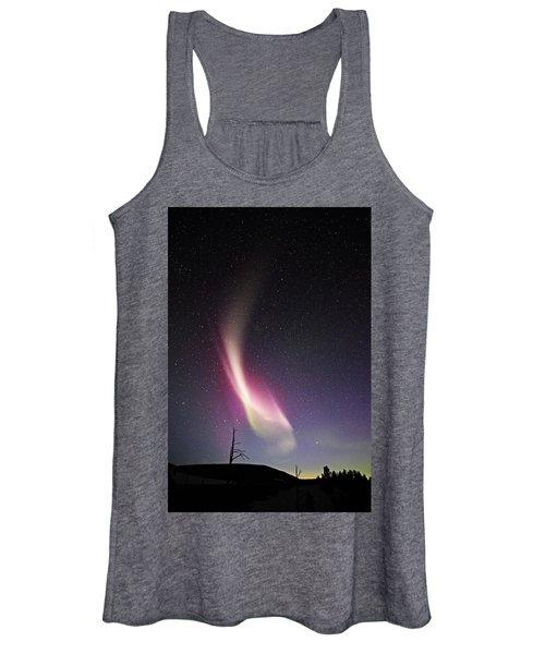 auroral Phenomonen known as Steve 3 Women's Tank Top