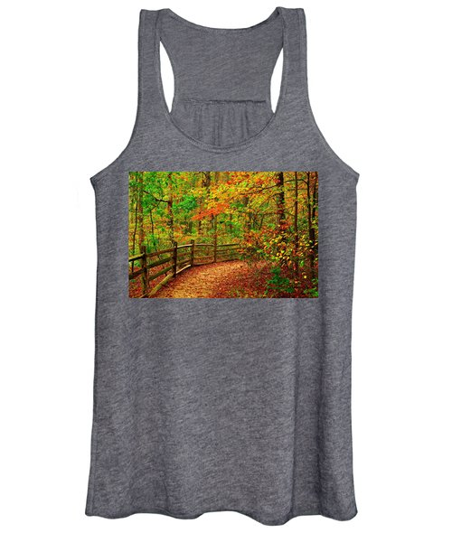 Autumn Bend - Allaire State Park Women's Tank Top