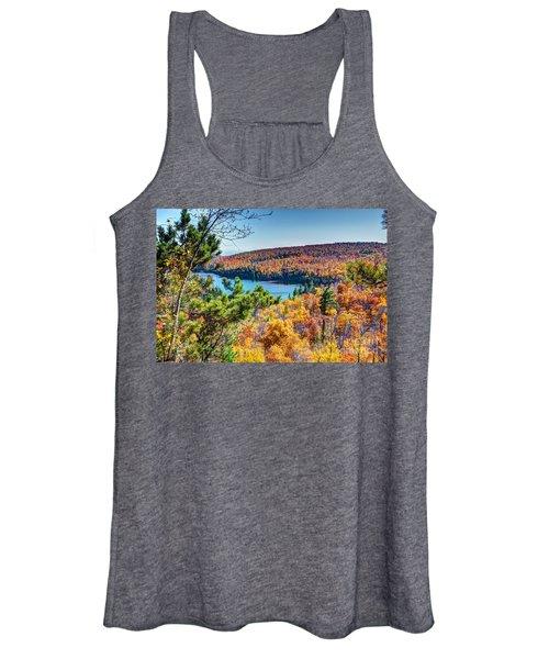 Autumn Colors Overlooking Lax Lake Tettegouche State Park II Women's Tank Top