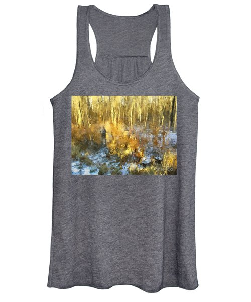 Autumn Gold  Women's Tank Top