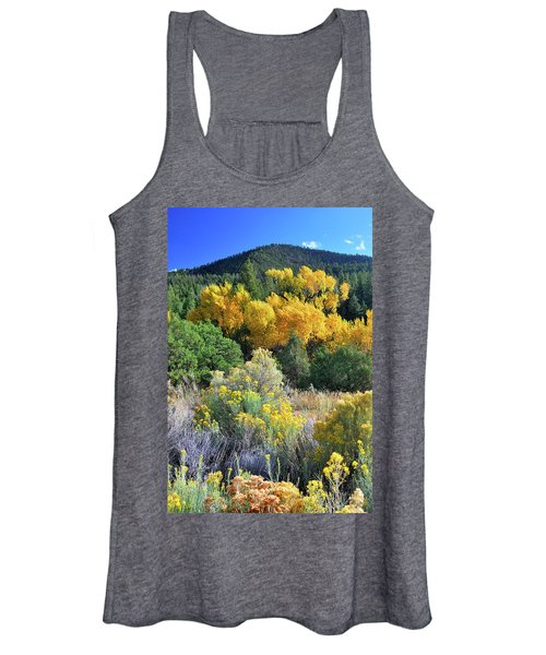 Autumn In The Canyon Women's Tank Top