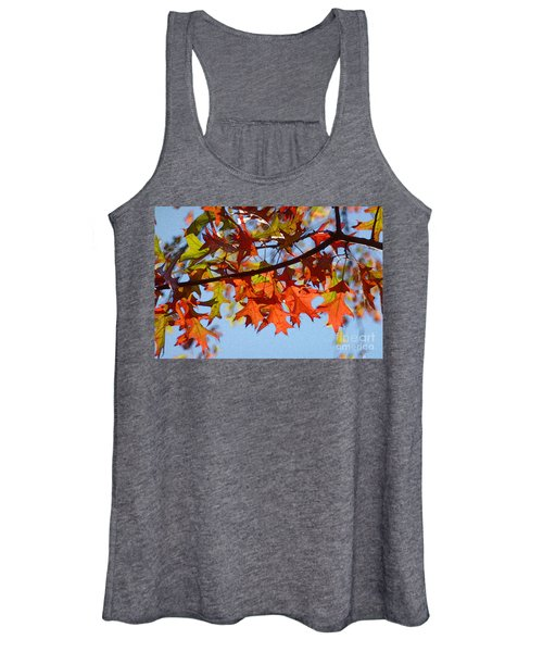 Autumn Leaves 16 Women's Tank Top