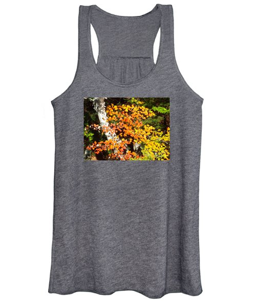 Autumn Maple Women's Tank Top
