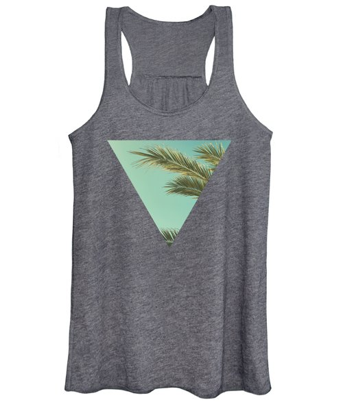 Autumn Palms II Women's Tank Top