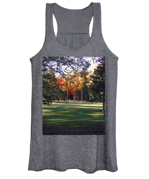 Autumn Park Women's Tank Top