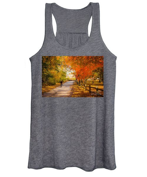 Autumn Path Women's Tank Top