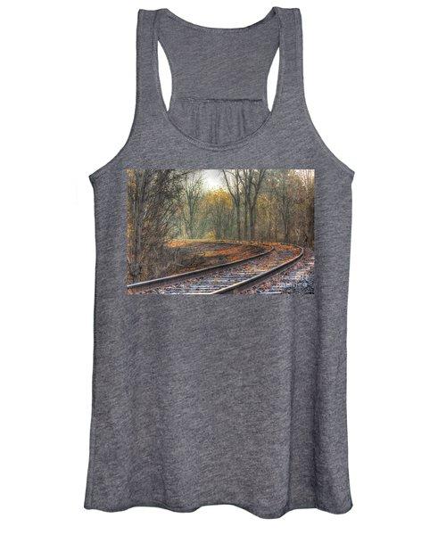 Autumn Tracks Women's Tank Top