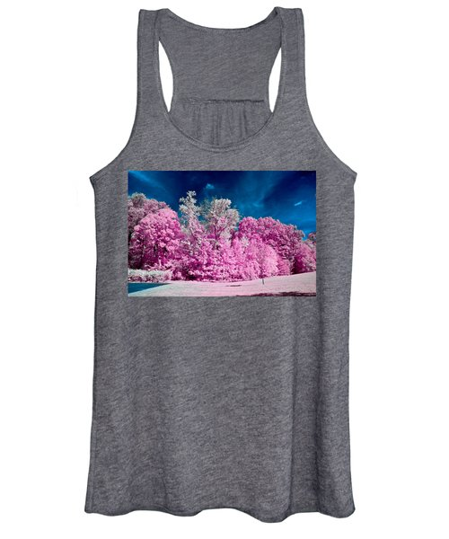 Autumn Trees In Infrared Women's Tank Top