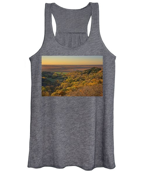 Autumn View At Waubonsie State Park Women's Tank Top