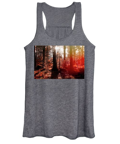 Autumnal Afternoon Women's Tank Top