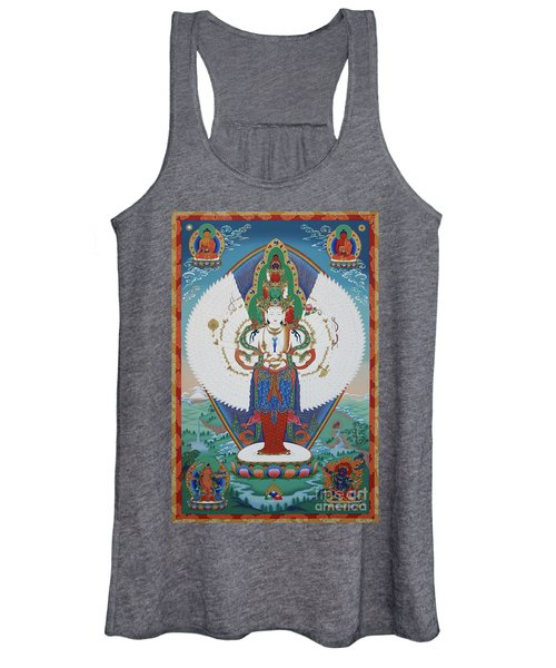 Avalokiteshvara Lord Of Compassion Women's Tank Top
