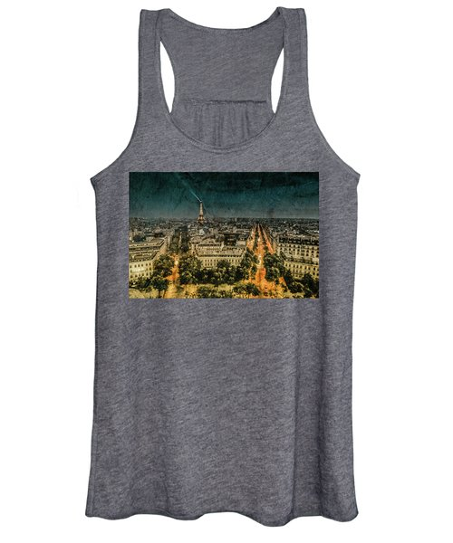 Paris, France - Avenue Kleber Women's Tank Top