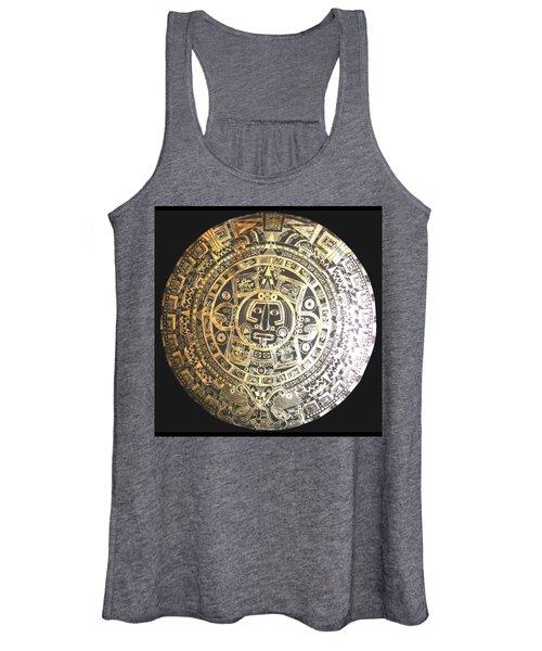 Aztec Calendar Women's Tank Top