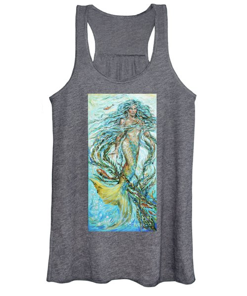 Azure Locks Women's Tank Top