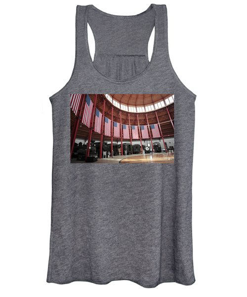 B And O Museum Roundhouse In Baltimore Maryland Women's Tank Top