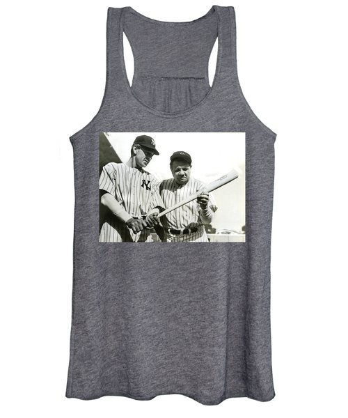 Babe Ruth And Lou Gehrig Women's Tank Top