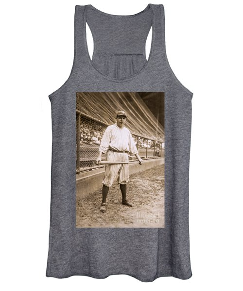 Babe Ruth On Deck Women's Tank Top