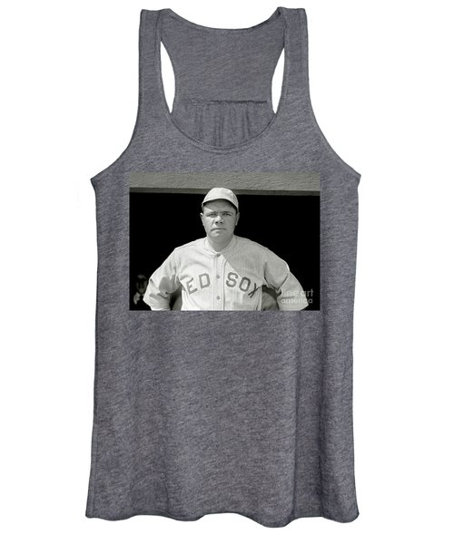 Babe Ruth Red Sox Women's Tank Top