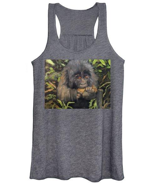 Baby Gorilla Women's Tank Top