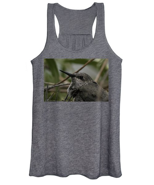 Baby Humming Bird Women's Tank Top