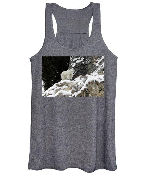 Baby Mountain Goat Women's Tank Top