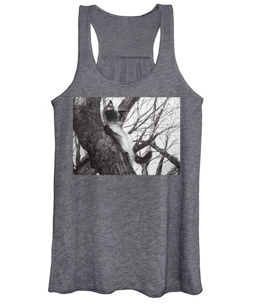 Baby Up The Apple Tree Women's Tank Top
