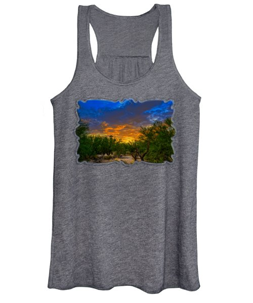 Back Alley Sunset H35 Women's Tank Top
