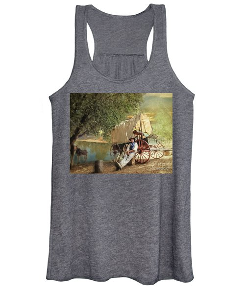 Back Country Camp Out Women's Tank Top