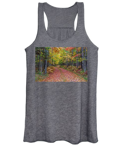 Back Road Color Tour  Women's Tank Top