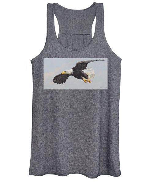 Bald Eagle Women's Tank Top