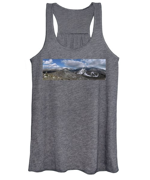 Bald Mountain Winter Panorama Women's Tank Top