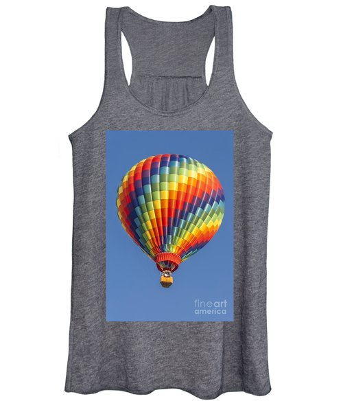 Ballooning In Color Women's Tank Top