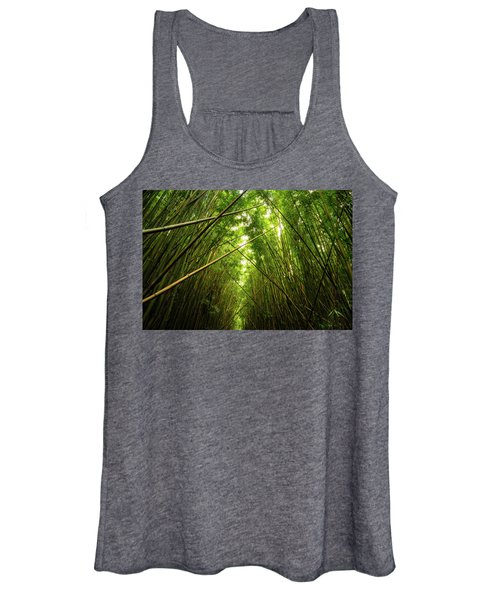 Bamboo Forest Women's Tank Top