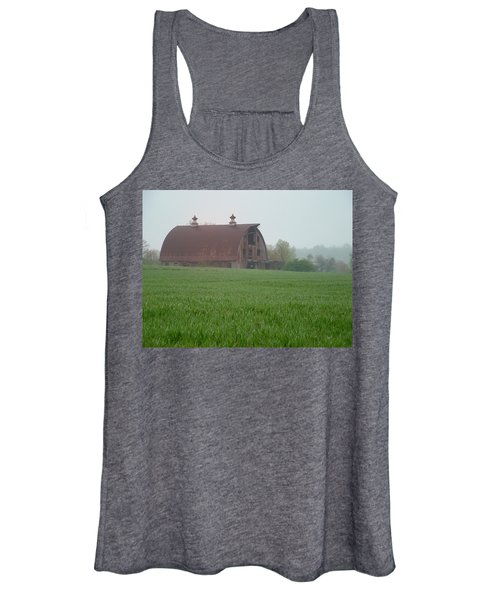 Barn In Summer Women's Tank Top