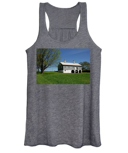 Barn In The Country - Bayonet Farm Women's Tank Top