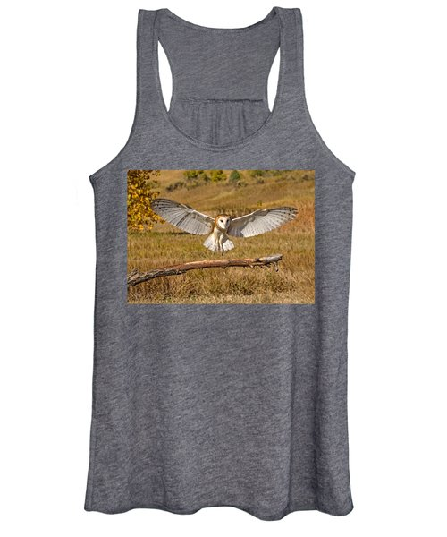 Barn Owl Landing Women's Tank Top
